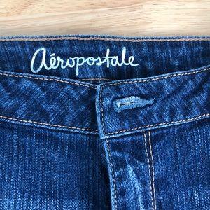 Aeropostale juniors distressed Bermuda shorts